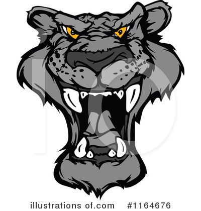 Panther Clipart #1164676 by Chromaco