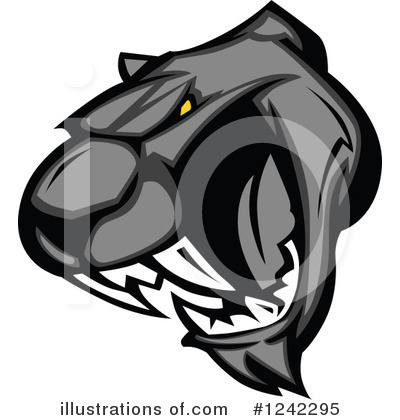 Panther Clipart #1242295 by Chromaco