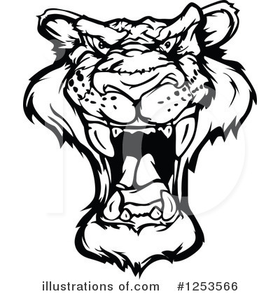 Panther Clipart #1253566 by Chromaco