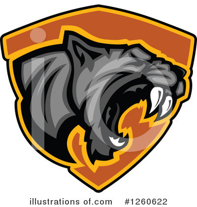 Panther Clipart #1260622 by Chromaco
