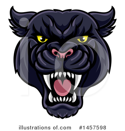 Panther Clipart #1457598 by AtStockIllustration
