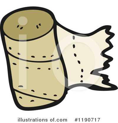 Paper Towels Clipart #1190717 - Illustration by ...