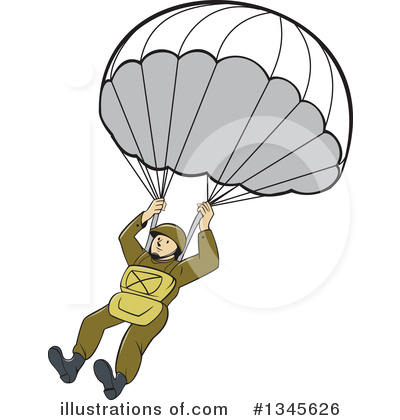 parachute clipart 1345626 illustration by patrimonio rh illustrationsof com parachute clipart free parachute images clipart