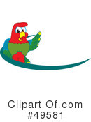 Parrot Mascot Clipart #49581 by Toons4Biz