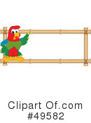 Parrot Mascot Clipart #49582 by Toons4Biz