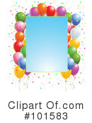 Party Balloons Clipart #101583 by Pushkin
