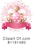 Party Balloons Clipart #1181480 by Pushkin