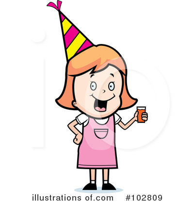Party Clipart #102809 by Cory Thoman