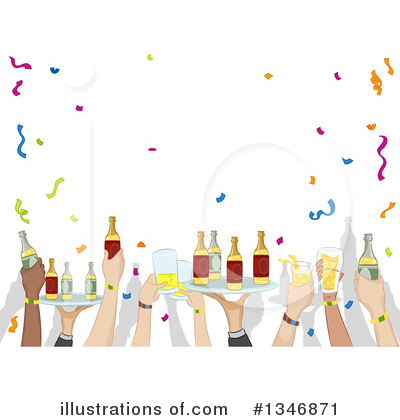 Cheers Clipart #1346871 by BNP Design Studio
