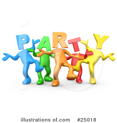 Dancing Clipart #25018 by 3poD