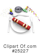 Party Clipart #25227 by KJ Pargeter