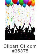 Party Clipart #35375 by KJ Pargeter