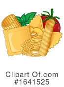 Pasta Clipart #1641525 by Domenico Condello