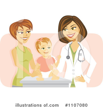 pediatrician clipart 1107080 illustration by amanda kate