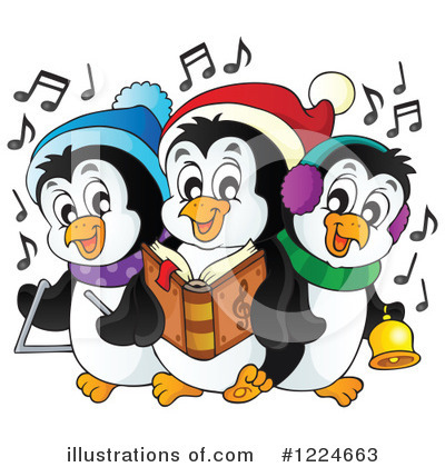 Penguin Clipart #1224663 by visekart