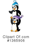 Penguin Clipart #1365906 by visekart