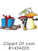 Penguin Clipart #1434220 by toonaday