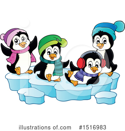 Penguin Clipart #1516983 by visekart