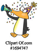 Penguin Clipart #1694747 by toonaday