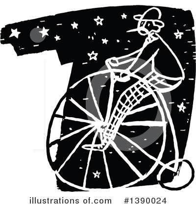 Bicycle Clipart #1390024 by Prawny Vintage