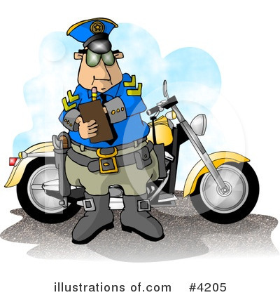 Motorcycle Clipart #4205 by djart