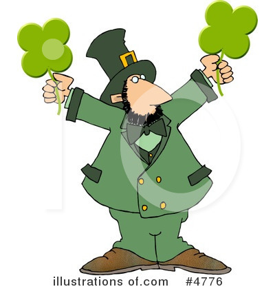 Leprechaun Clipart #4776 by djart