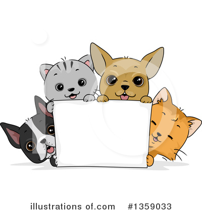Pets Clipart #1359033 by BNP Design Studio