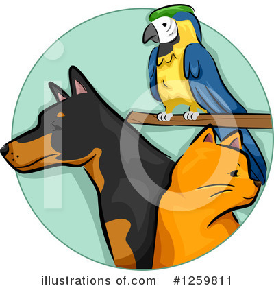 Pets Clipart #1259811 by BNP Design Studio