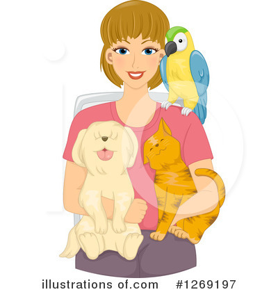 Pets Clipart #1269197 by BNP Design Studio