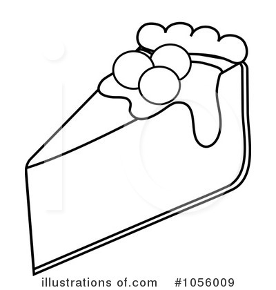 Pie Clipart #1056009 - Illustration by Pams Clipart