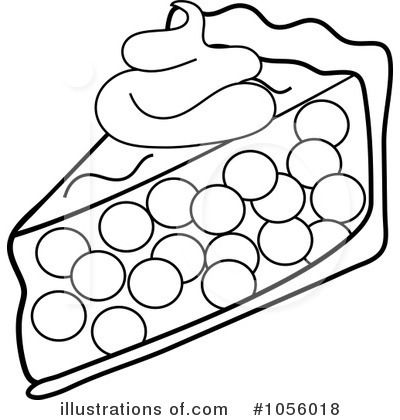 Pie Clipart #1056018 - Illustration by Pams Clipart