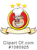 Pig Chef Clipart #1080925 by Paulo Resende