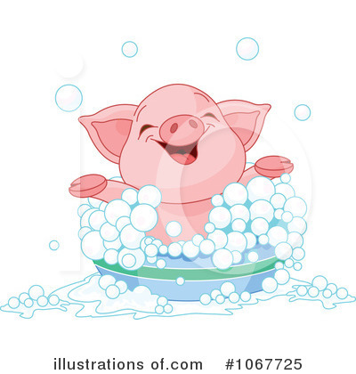 Pig Clipart #1067725 by Pushkin