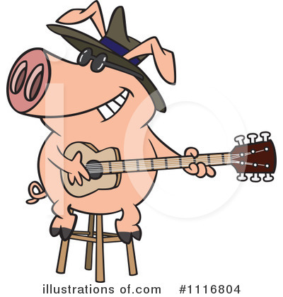 Pig Clipart #1116804 by toonaday