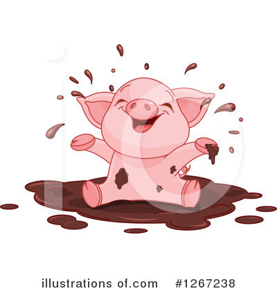 Pig Clipart #1267238 by Pushkin