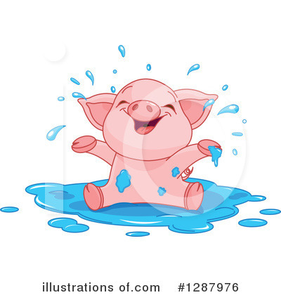 Pig Clipart #1287976 by Pushkin