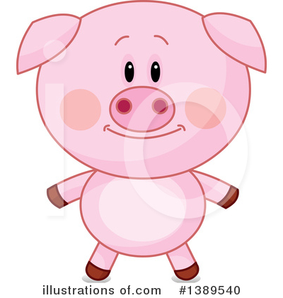 Pig Clipart #1389540 by Pushkin