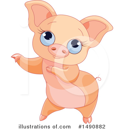 Pig Clipart #1490882 by Pushkin