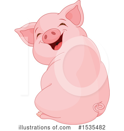 Pig Clipart #1535482 by Pushkin