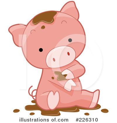 Pig clipart 226310 illustration by bnp design studio royalty free rf pig clipart illustration by bnp design studio stock sample voltagebd Image collections