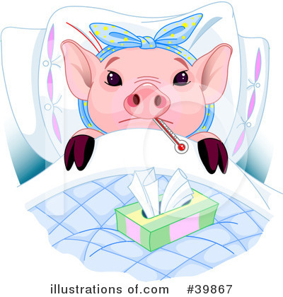 Pig Clipart #39867 by Pushkin