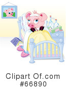 Pig Clipart #66890 by Pushkin