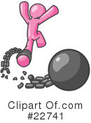 Pink Collection Clipart #22741 by Leo Blanchette