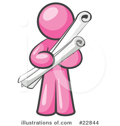Pink Collection Clipart #22844 by Leo Blanchette