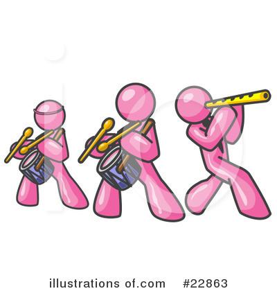 Pink Collection Clipart #22863 by Leo Blanchette