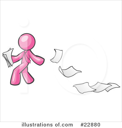 Pink Collection Clipart #22880 by Leo Blanchette