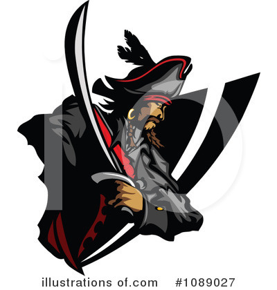Pirate Clipart #1089027 by Chromaco