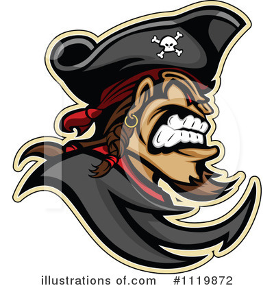 Pirate Clipart #1119872 by Chromaco