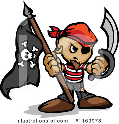 Pirate Clipart #1169978 by Chromaco