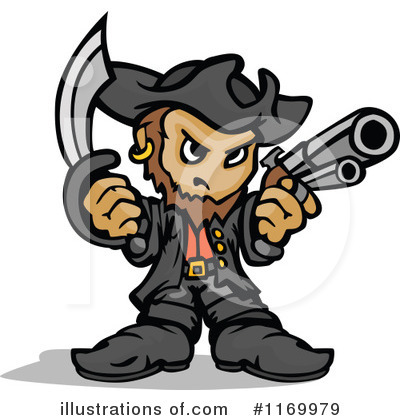 Pirate Clipart #1169979 by Chromaco